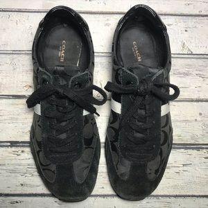 Coach Kortney Black Shoes Size 9